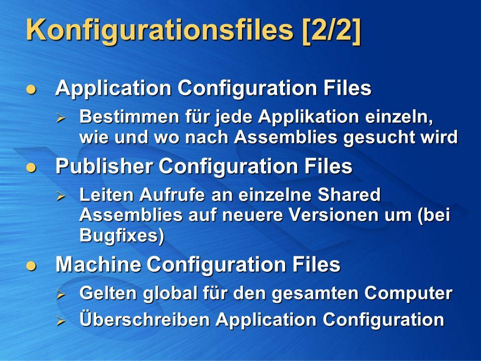 Konfigurationsfiles [2/2]